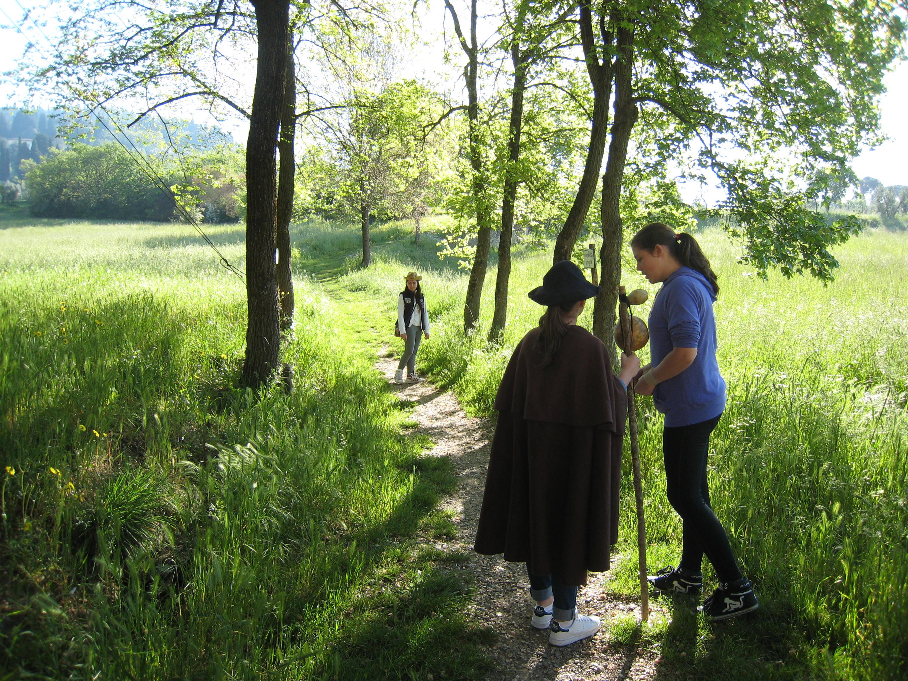 Sui passi del pellegrino: l'esperienza del cammino