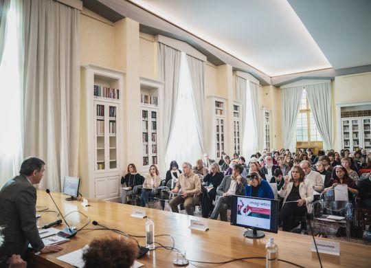 Sala Conferenze, Fondazione Biblioteche - Fondazione Cr Firenze, foto di Michele Monasta