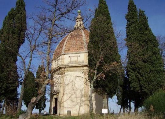 Cappella San Michele Arcangelo  a Semifonte in Chianti, foto Ufficio Stanpa Unione Comunale del Chianti Fiorentino