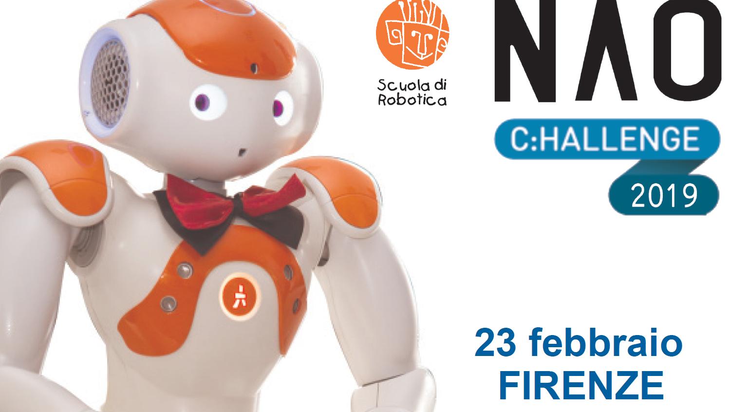 NAO Challenge 2019: la sfida ed i laboratori gratuiti di robotica