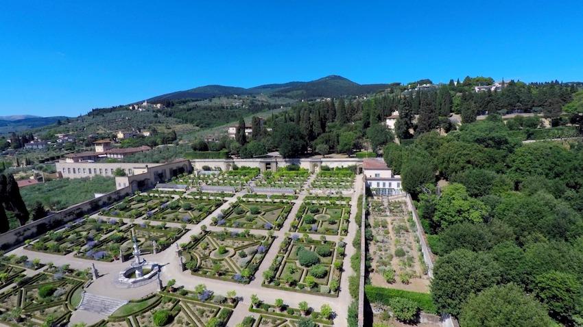Villa Medicea di Castello: il Giardino