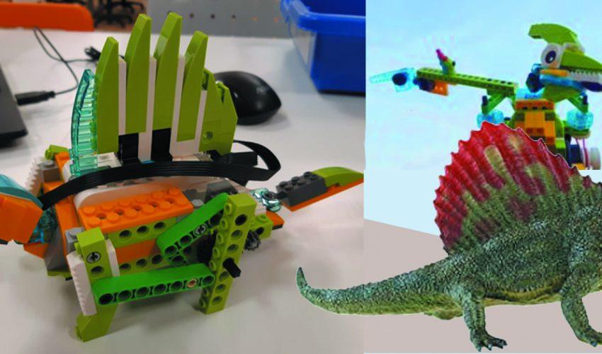 Dinosauri e Robot