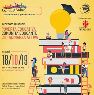 Giornata studi su Povertà educativa e Comunità educante