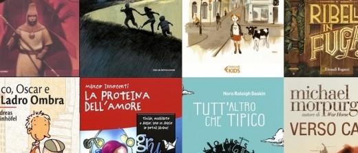 Collage di copertine dei libri di LCP 2013/14