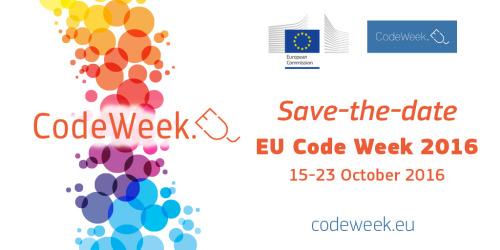 EU Code Week 2016. La settimana del coding