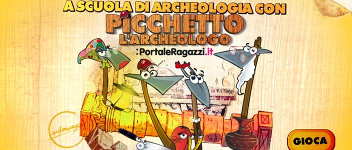 A scuola di archeologia con Picchetto l'Archeologo!