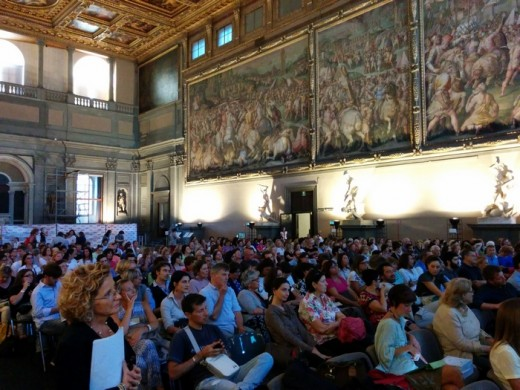 Presentazione Chiavi della Città 2014-15. 17 settembre 2014 , Salone dei Cinquecento, Palazzo Vecchio